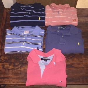 Bundle of Mens Designer Polo Shirts